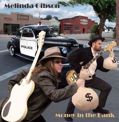 """Artwork for Melinda Gibson's """"Money In The Bank"""" CD designed by Russell Paris at JRP Graphics, June"""