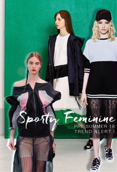 PS18 Trend Alert - SPORTY FEMININE