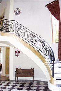 Wrought Iron Staircase Design