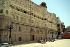 Side view of #JunagadhFort, #Bikaner, #Rajasthan