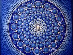 Mandala de la brillante y sorprendente original en un solo