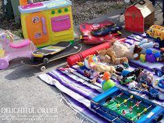 Delightful Order: Host an Organized Garage / Yard Sale