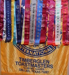 Timberglen Toastmasters- club 1244830 located in Dallas, Texas U.S.A. Thank you to Manhal Shukayr for the banner picture.