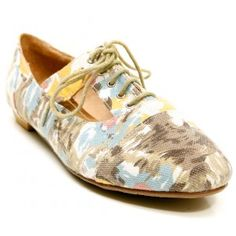 love love love these canvas cutout oxfords!