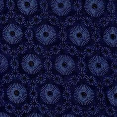 Doodle Collection- Jacquard Eyelet Navy Cotton