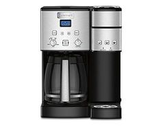 Cuisinart SS-15 12-Cup Coffee Maker and Single-Serve Brewer, Stainless Steel