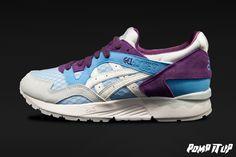 Asics Gel Lyte V (Light Blue/White) For Women  Sizes: from 36 to 42 EUR Price: CHF 160.- #Asics #GelLyteV #GLV #AsicsGelLyteV #Sneakers #SneakersAddict #PompItUp #PompItUpShop #PompItUpCommunity #Switzerland Baskets, Asics Gel Lyte, Chf, Switzerland, Sneakers, Light Blue, Blue And White, Shoes, Women