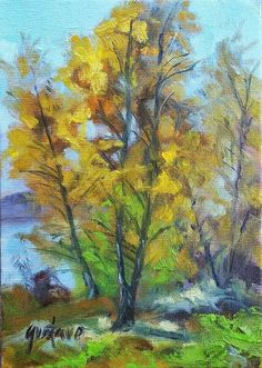 orinal oil.plein air painting direct from the artist #Impressionism