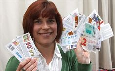 Judith Wenban, extreme couponer -couponing in Britian... bring it on!