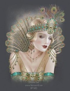 Maxine Gadd published fairy and fantasy artist. Exceptional digital illustrations and mystical beings Art Deco Posters, Vintage Posters, Vintage Art, Vintage Paintings, Art And Illustration, Illustrations, Fantasy Kunst, Fantasy Art, Art Nouveau