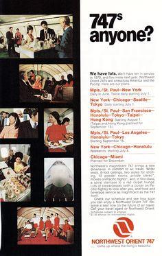 Northwest Orient, 1971.
