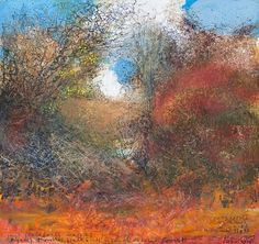 Kurt Jackson: Crab apples, haws, hips, sloes in the New Forest. November 2014 Campden Gallery, fine art, Chipping Campden, camden gallery, contemporary, contemporary arts, contemporary art, artists, painting, sculpture, abstract painting, gloucestershire, cotswolds, painting for sale, artwork for sale, modern art gallery, art exhibitions,arts gallery, gallery art, art gallery UK