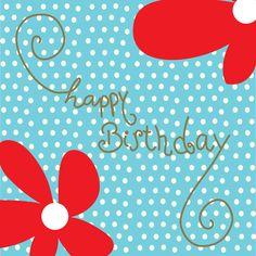 Verjaardagskaart van Tsjip