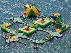 why does this look like a bouncy castle version of waterworld?