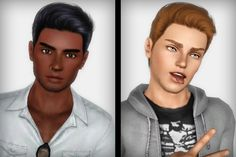 Cazy's hair 119 for males retextured by FaA - Sims 3 Downloads CC Caboodle