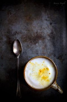 Make your own cup of chai this Fall! Turmeric Chai Latte | via Savory Simple