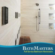 Customize your master bath from top to bottom! You deserve the full treatment.