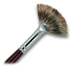fan artist brush - Google Search