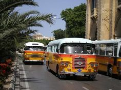 Old bus at Malta's islands. Reminds my of my childhood growing up each summer with my grandparents. In those days the buses where green.