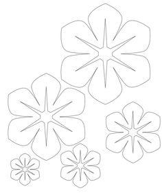 molde-flor-de-feltro.jpg (700×844)