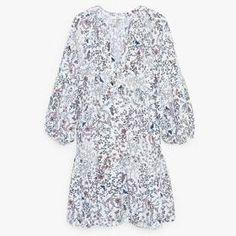 Flowy Print Dress by Mango