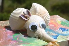 Cute seashell craft