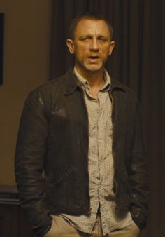 Skyfall Jacket Leather | Distressed Daniel Craig Jacket For Men