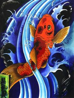 pisces...love the vibrancy: unfortunately I'm not a pieces but this would be awesome on my step-dad who is :)