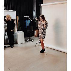 Model having fun in front of the camera. #veromoda #veromodainside #model #photoshoot #fashion #fun #loveit