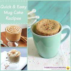 13 Quick and Easy Mug Cake Recipes