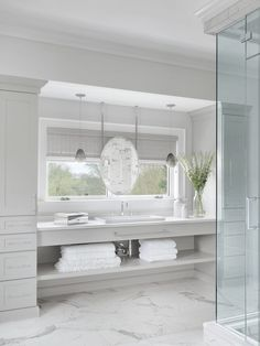 Bath with Shower Tagged: Bath Room.  Photo 8 of 11 in Hampton's House by Mitchell Wall Architecture & Design