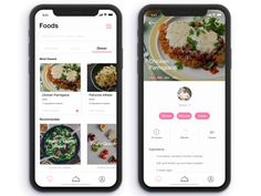 Food App - App Templates - Ideas of App Templates - Food App designed by Stefano Sanka. Connect with them on Dribbble; the global community for designers and creative professionals. Ui Design Mobile, App Ui Design, User Interface Design, Food Technology, Diet Apps, Application Design, Ui Web, Web Design Inspiration, Planer