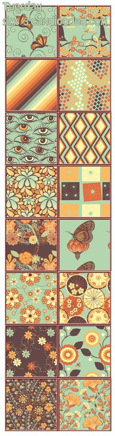 Tuesday Pattern Set xoxo