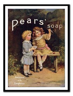 pears soap vintage - Google Search