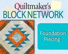 Eileen Fowler, Associate Editor for QM, shares more tips that will help you successfully foundation piece. She'll be using her fun block Santa Fe Star, designed for Quiltmaker's 100 Blocks Vol. 7. #QNNtv #quiltblock #video #tutorial