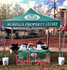Come check out our tent tomorrow in the plaza!  Celebrate Earth Day with us and find out how we do our part to take care of Mother Earth!