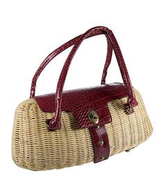 Another great find on  zulily! Burgundy Clam Shell Tote  zulilyfinds  Western Chic, fdfcff4b70