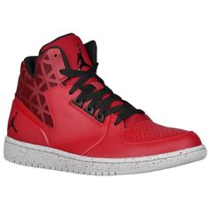 Jordan 1 Flight Mid 3 - Men's - Basketball - Shoes - Red/Black