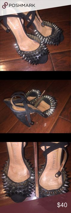 Jeffery Campbell spike Heels size 8 Use but has plenty of life still .. great price Shoes Heels