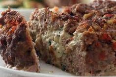 Maggiano's Restaurant : Stuffed Meatloaf