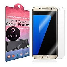 $7.88 - Amazon - [2-Pack] Galaxy S7 Edge Screen Protector,SupThin [Full Coverage][Case Friendly][Bubble-Free][Anti-Scratch] HD Clear Screen Protector for Samsung Galaxy S7 Edge