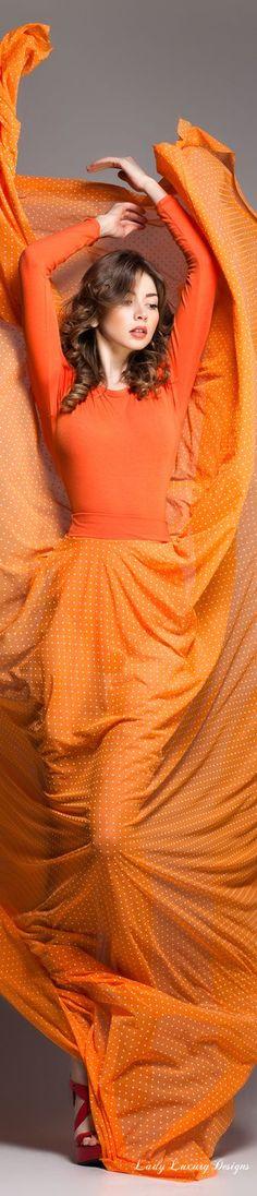 Diva Designs | A Beautiful Display Of Mandarin In Fashion!