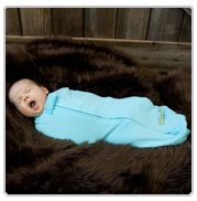 The Woombie. Such a great idea. I never did master swaddling.