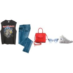 Untitled #396 by giuliabardelli on Polyvore featuring Converse and Rebecca Minkoff My Outfit, Rebecca Minkoff, Converse, Shoe Bag, Polyvore, Stuff To Buy, Outfits, Shopping, Collection