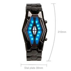 Wish Shopping, Red And Blue, Snake, Led, Steel, Watches, Luxury, Stuff To Buy, Black