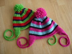 Free Knitting Pattern...Rock Candy Hats!