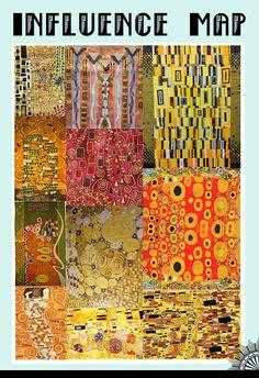 Alice Druzga : Klimt Patterns and Materials