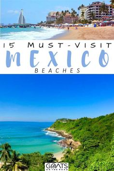Planning your next holiday trip? Check out our guide to these 15 must-visit Mexico beaches for your vacation getaway. Whether you want a private paradise beach, or one surrounded by mountains, a great place to snorkel or more, here are the best beaches in Mexico! | #BestBeaches #Wanderlust #Bucketlist Mexico Vacation, Mexico Travel, Cancun Mexico, Spain Travel, Best Beaches In Mexico, Beaches In The World, Beach Hotels, Beach Vacations, Beach Resorts
