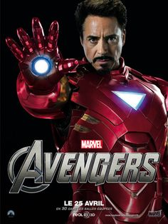 Tony Stark aka Iron Man (Robert Downey Jr.)