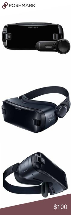 New in Box Samsung Gear VR w/ Controller - Black New in Box, sealed Samsung Gear VR with Controller. Color: Black.                                          🎮Features: Virtual Reality / 360° viewing 🎮OS: Android Lollipop 5.0 or later 🎮Weight: 0.76 lbs 🎮Compatible Devices: Galaxy S8+, Galaxy S8, Galaxy S7, Galaxy S7 edge, Galaxy S6, Galaxy S6 edge, Galaxy S6 edge+ 🎮Connectivity: USB, Bluetooth 🎮Sensor Type: Accelerometer, Gyro Sensor, Proximity Sensor Samsung Other